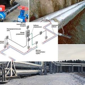 Обогрев трубопровода Тараз