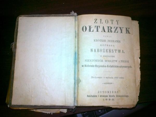 Библия на польском языке 2